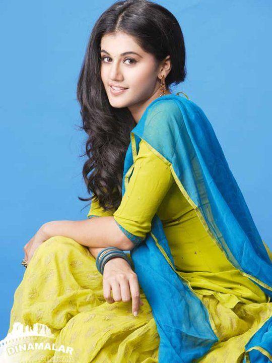 Taapsee Pannu in salwar.   Taapsee pannu, Indian actresses, Indian fashion  saree