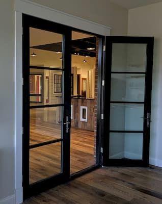 Replacement Hinged French Patio Doors Pella Retail With Images French Doors Patio Patio Doors Contemporary Doors