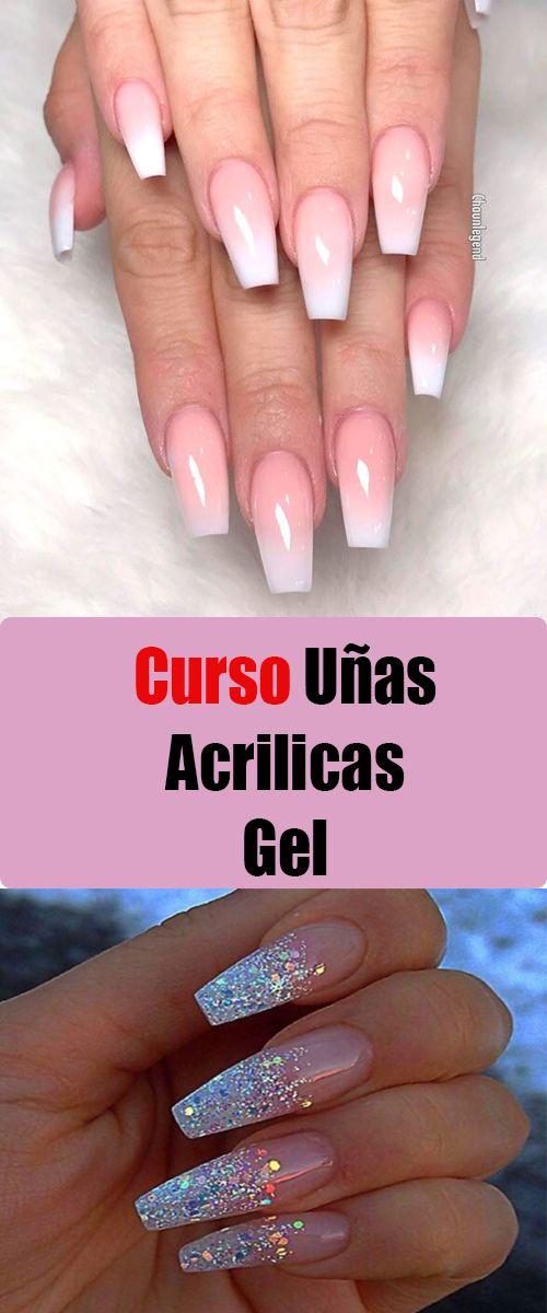 Pin De Ale Miranda En Nails Curso De Uñas Acrilicas Tipo