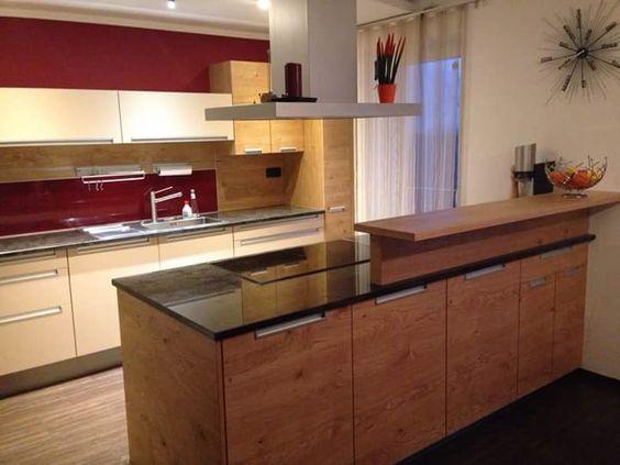 3,5m Glas-Küchenrückwand in Weiss - KGS Küche Pinterest - glasrückwand küche beleuchtet