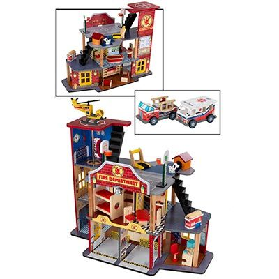 The firehouse doll house from costco for my nephew pinterest costco the o 39 jays and doll - Costco toys for kids ...