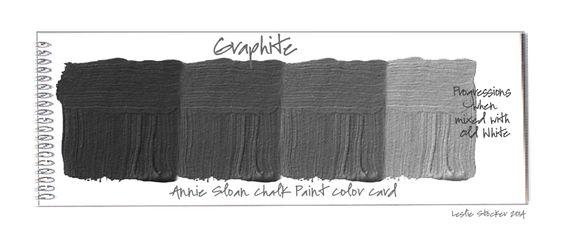 graphite annie sloan chalk paint