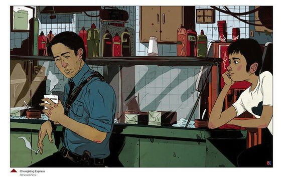 Chungking express fan art | Chungking express | Pinterest ...