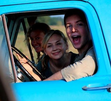 Jane McNeill as Patricia, Emily Kinney as Beth and James Allen McCune as Jimmie