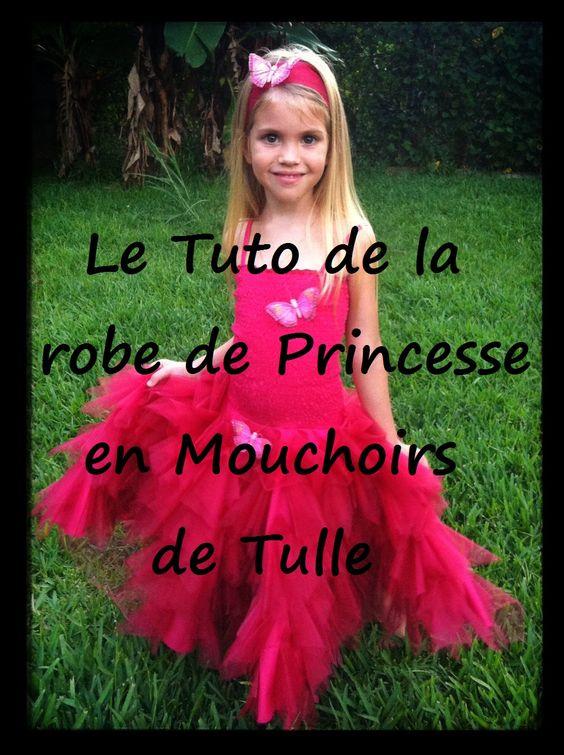 Tuto robe de princesse diy deguisement pinterest - Deguisement petite fille ...