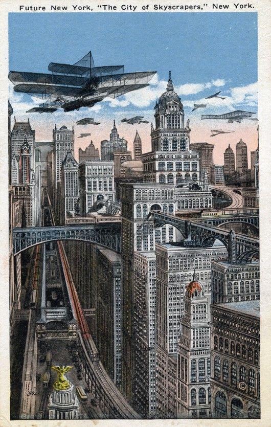 1910s - 1930s : America of the Future