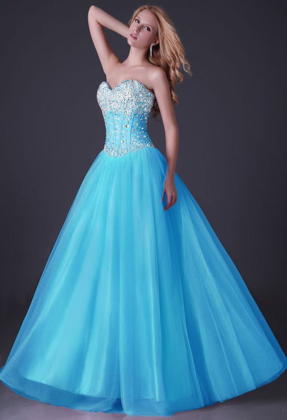 Details about Tulle LUXURY Long Formal Evening Party Bridesmaid ...