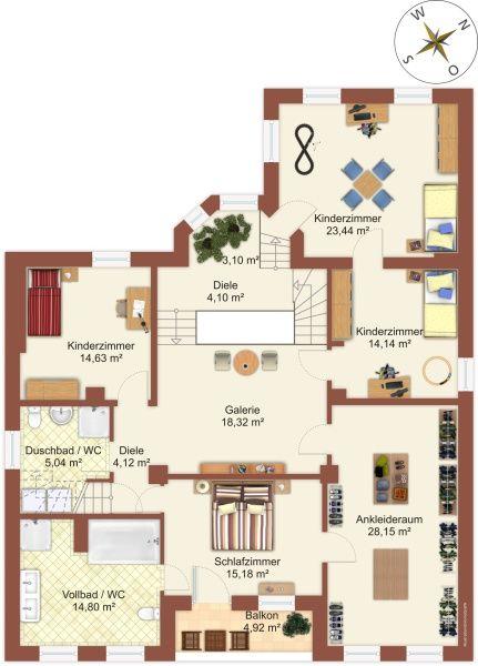 Grundriss obergeschoss models p pinterest for Schuhschrank umfunktionieren