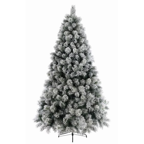 With the realistic branch tips and thick snow effect this tree has a full, luxurious feel and will look great once decorated.