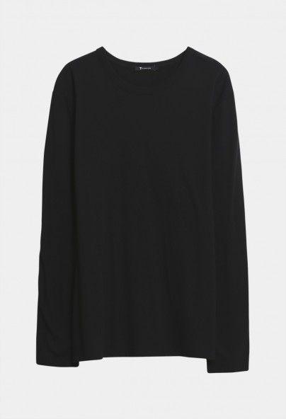 Alexander Wang Classic Long sleeve Shirt Black