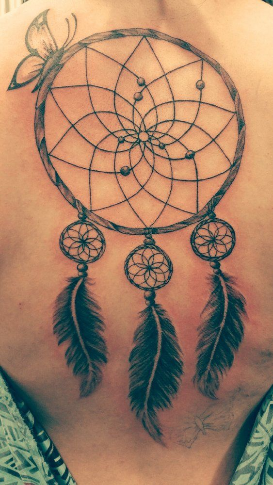 dream catcher butterfly tattoo - Αναζήτηση Google