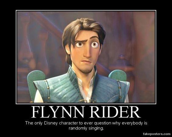 Afbeeldingsresultaat voor flynn rider why is everyone singing