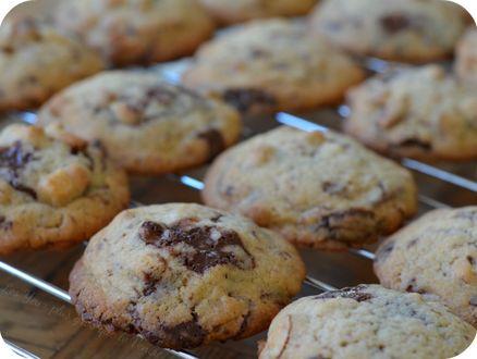 Cookies moelleux Chocolat Amande [Les Yeux plus gros que le Ventre]