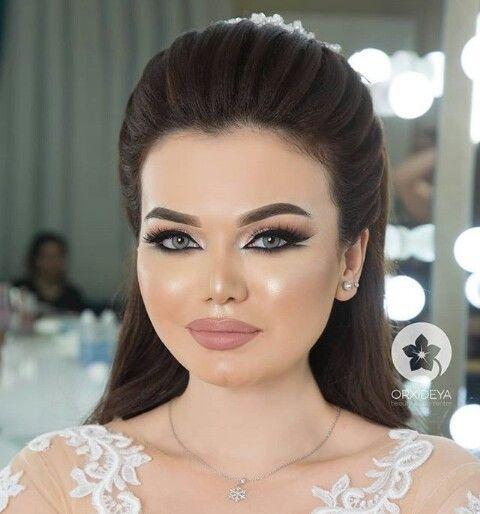 Pin By Aystar On Gelin Sac Makyaj Bridal Makeup Beauty Makeup Hair Beauty