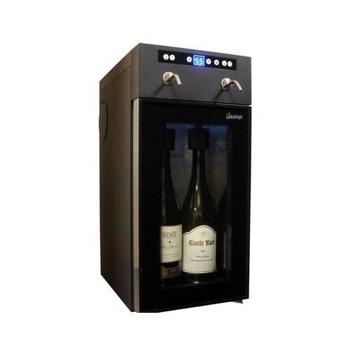 Wine Bottle Dispenser Cooler Chills Preserves Kitchen Home Bar Display Case  #Vinotemp