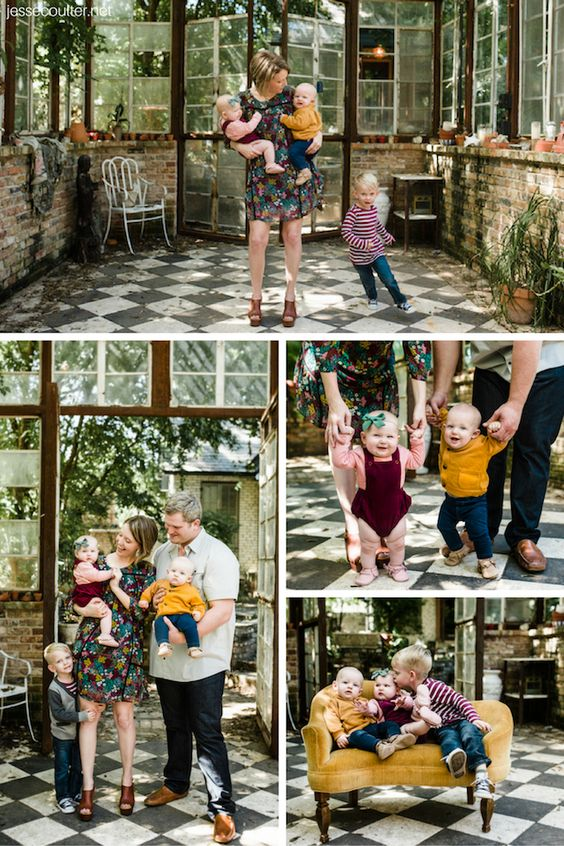 Fall Family Photos + Tips on Coordinating Family Outfits - Jesse Coulter Blog #familyphotos #familyoutfits #loveloft #babyoutfits #falloutfits #fallfamilyphotos #familyholidayphotos #holidayphotos #coordinatingfamilyoutfits #twins #twinmom #twinoutfits