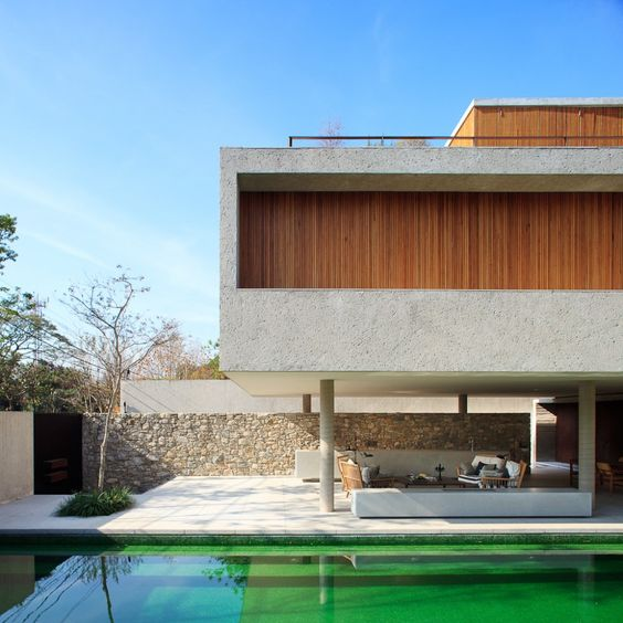 Studios, House and Concrete houses on Pinterest
