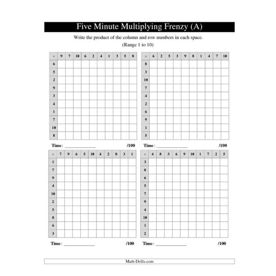math worksheet : multiplication worksheets multiplication and math sheets on pinterest : Math Today Worksheets