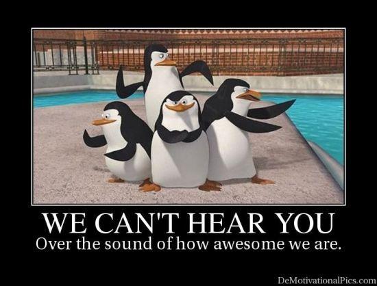 Love the Penguins of Madagascar - Skipper, Kowalski, Rico, and Private