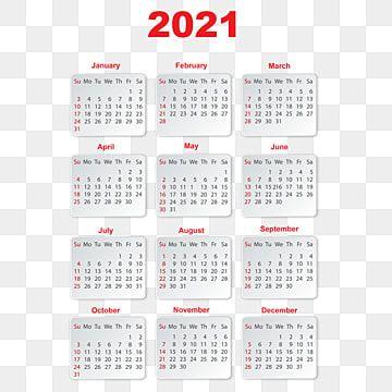 Calendario 2021 En Degradado Gris Calendario 2021 Ano Nuevo Png Y Vector Para Descargar Gratis Pngtree Calendar Template 2021 Calendar Calendar Design
