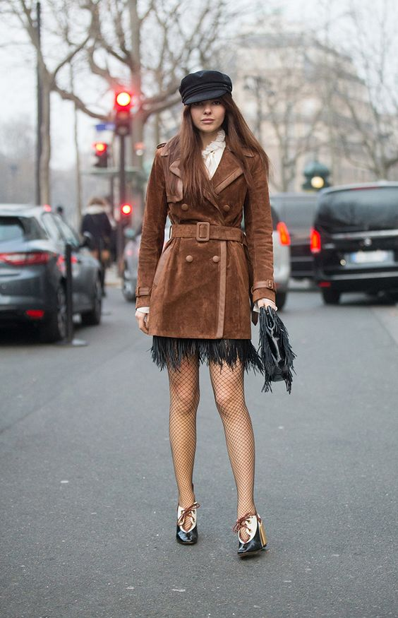 STYLECASTER   17 Surprising Ways to Style Your Favorite Fishnets