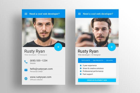 Made Material Design Business Card Template Business Card Design Business Card Template Psd Business Card Psd