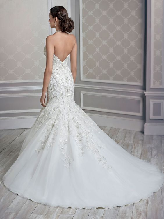Style 1591 bridal gowns wedding dresses kenneth for Private label wedding dresses