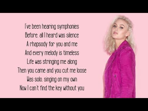Clean Bandit Symphony Lyrics Feat Zara Larsson Youtube Symphony Lyrics Zara Larsson Lyrics Zara Larsson