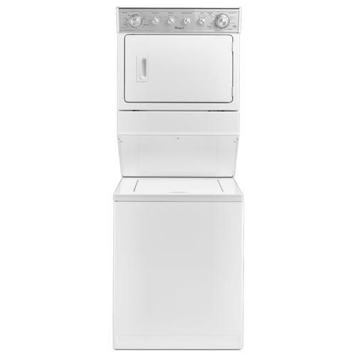 Whirlpool Wet4027ew 27 Full Size Electric Stacked Laundry Unit