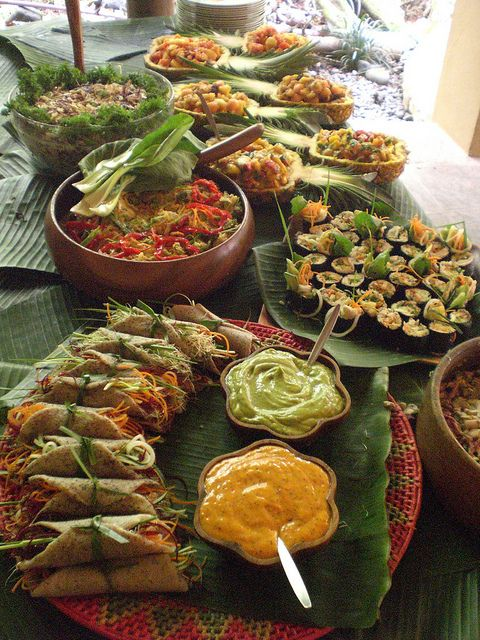 Wedding Raw Gourmet Buffet by Simply Loving Living Life, via Flickr