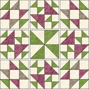 myQuiltGenie Blog: Old Maid's Puzzle quilt - part 3