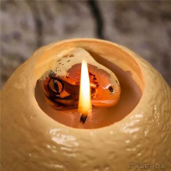 【涨姿势】这些蜡烛太牛了!