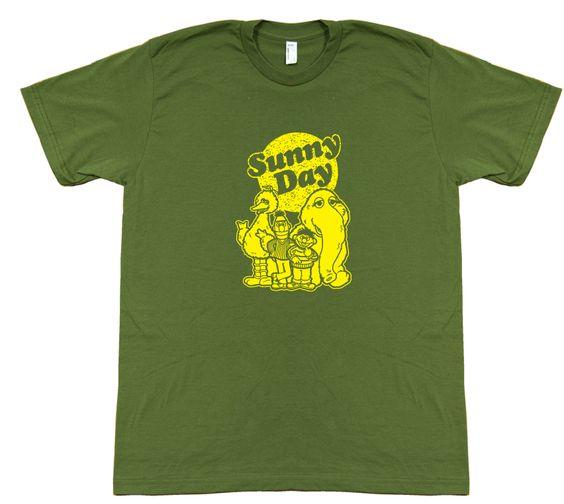 SUNNY DAY $29 trippstshirts.com #sesamestreet #tshirts #tshirtsrestinpeoplespersonalitees