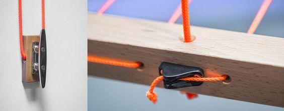 Hangbird wird nachhaltig in Deutschland gefertigt: Er ist aus einheimischem Holz produziert und besteht aus hochwertigen Materialien wie Buchenholz, Seilen aus deutscher Fertigung und Beschlägen aus dem Segelbedarf, die ein langes Leben garantieren.
