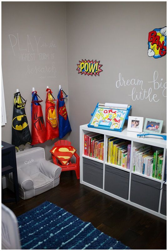 Toddler Boys Room Superhero Boys Room Boy Toddler Bedroom