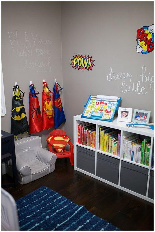 Toddler Boys Room Superhero Boys Room Boy Toddler Bedroom