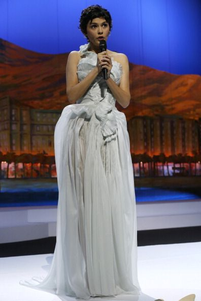 Audrey Tautou, maestra de ceremonias en la inauguración del Festival de Cannes