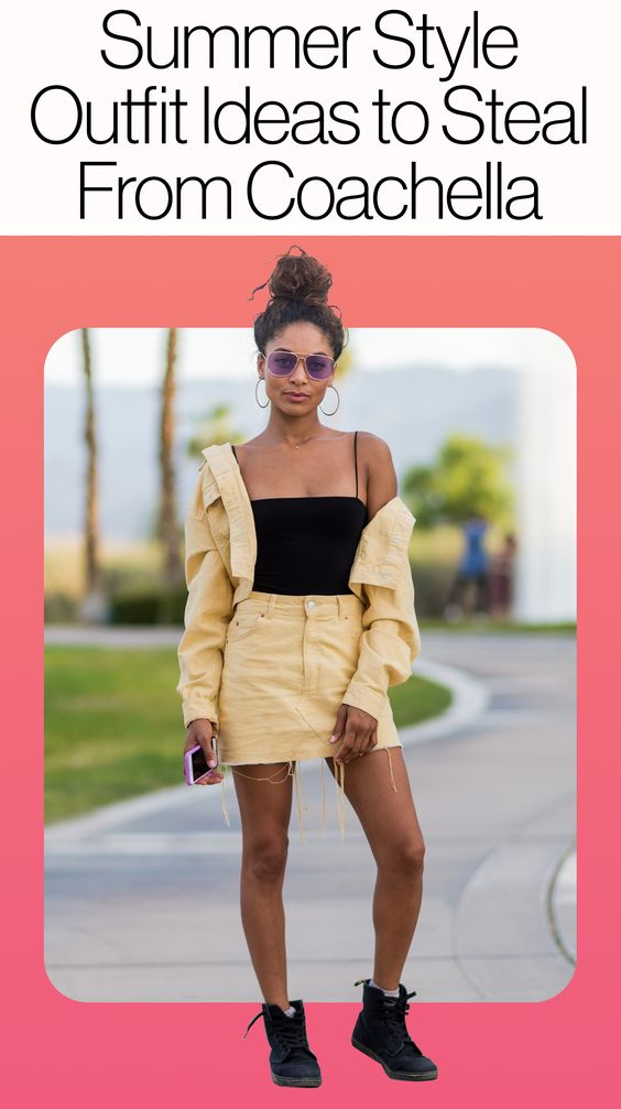 These summer outfit ideas go way beyond Coachella. Try them on!