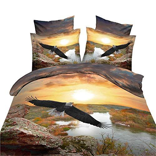 Wolf animal Duvet//Quilt//Doona cover Pillowcase bedding set bedroom//dormitory