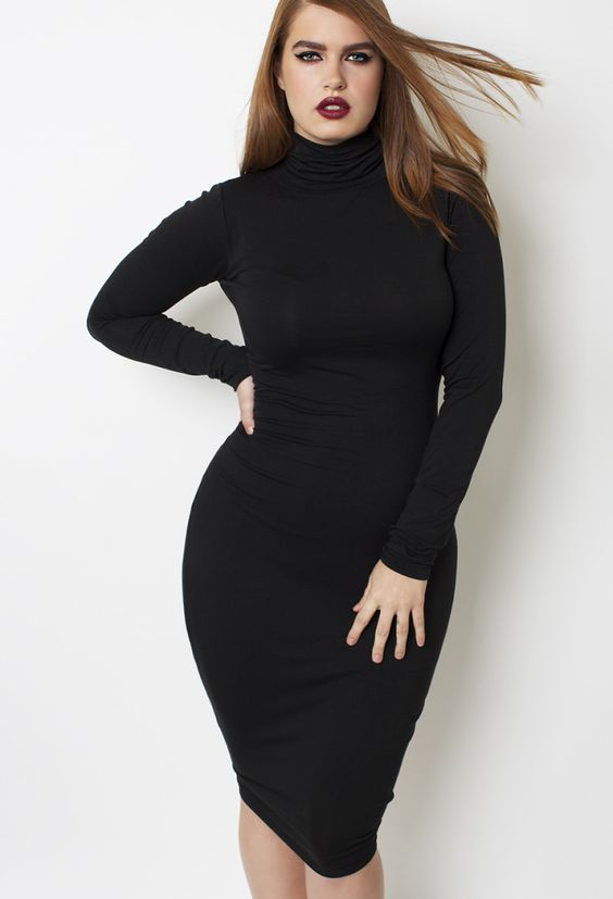 Black Turtlenecks Fashion