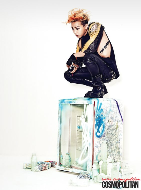 G-Dragon - Cosmopolitan Magazine July Issue '13