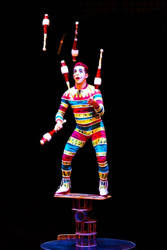 Balancing your holiday festivities just got a little easier. | La Nouba by Cirque du Soleil