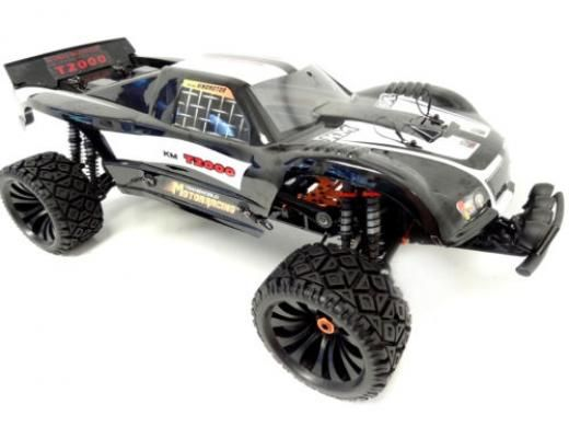 King Motor 1 5 Scale 4wd Rtr Off Road T2000 Gas Truck 34cc Fit Hpi