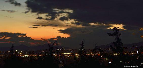 Travel in Clicks: Athenian sky