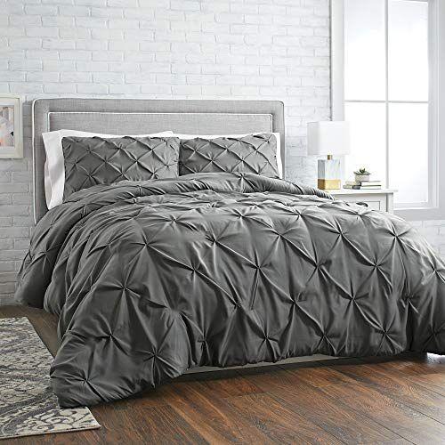 Better Homes Gardens 3 Piece Pintuck Comforter Set Full Queen