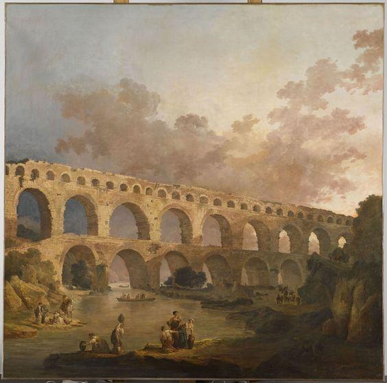 Hubert Robert (1733-1808), un peintre visionnaire - http://www.blog-habitat-durable.com/hubert-robert-1733-1808-peintre-visionnaire/