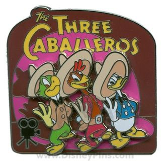 Walt's Classic Collection - The Three Caballeros | Disney Pin
