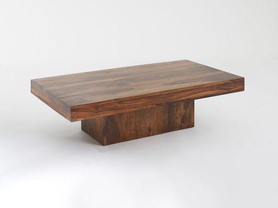 GI-2291 Design Couchtisch Massivholz Palisander Wohnzimmer