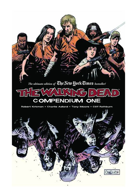The Walking Dead Compendium Vol 1 Graphic Novel