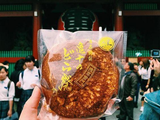 朝活浅草散歩 #foodporn#asakusa#亀十#龜十#tokyo#japan#どら焼き